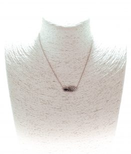Collier Ananas Argent