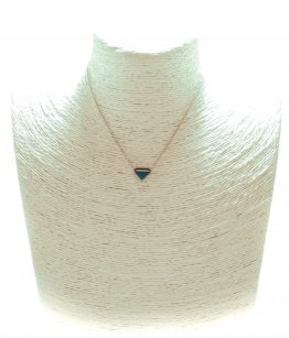 Collier diamond turquoise